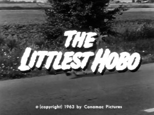 The Littlest Hobo title card