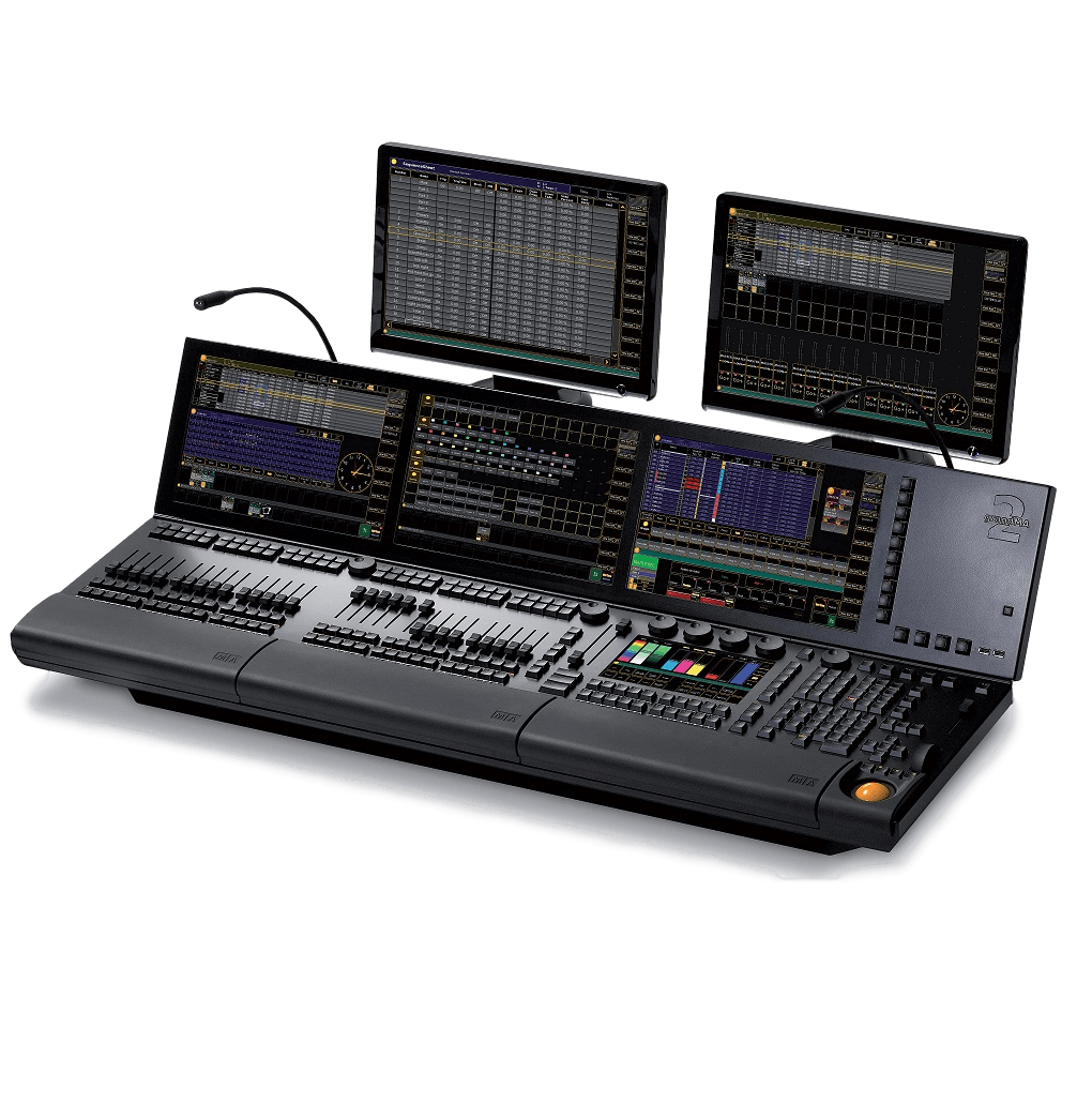 grand MA 2 lighting console rental touring events