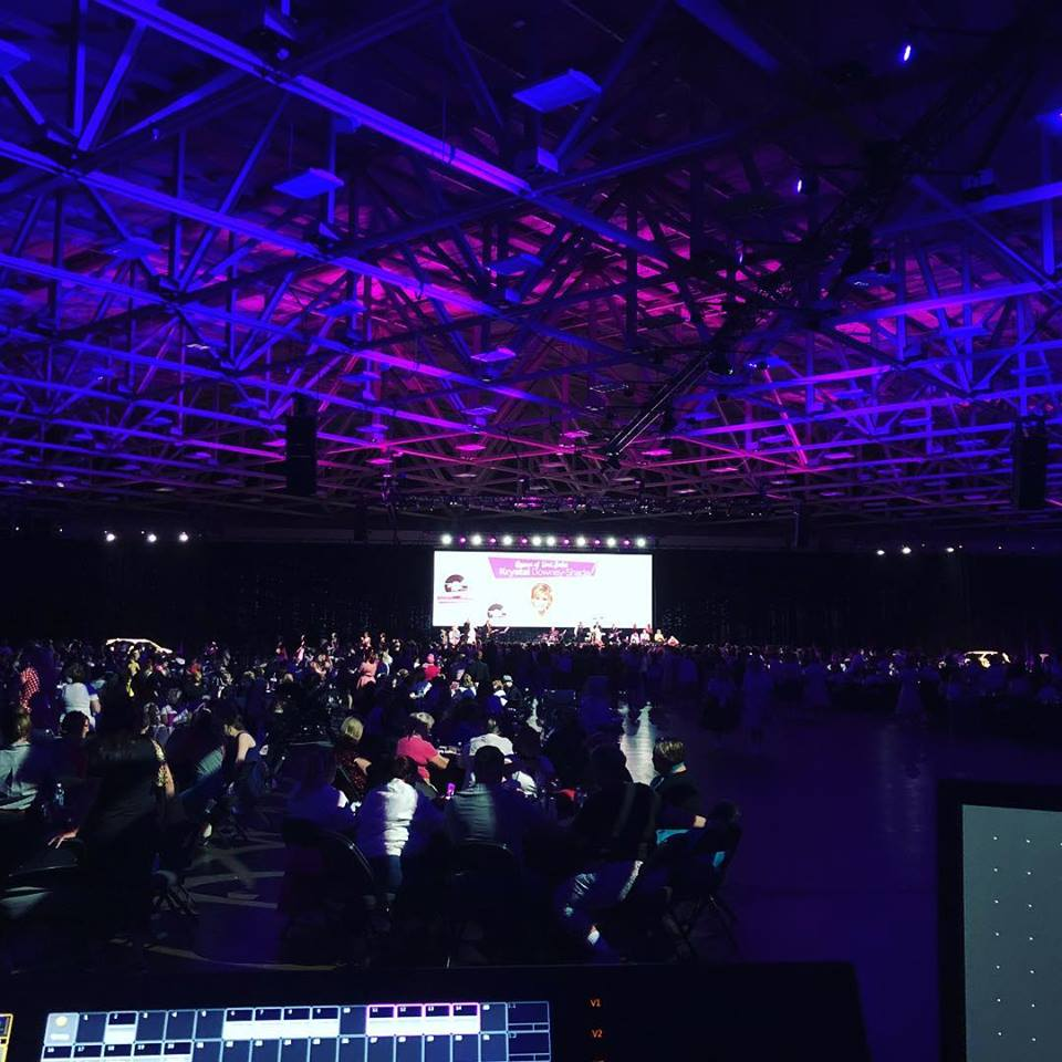breakout session and general session lighting company orlando