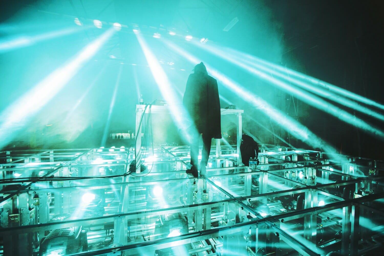 lighting virutal self stage