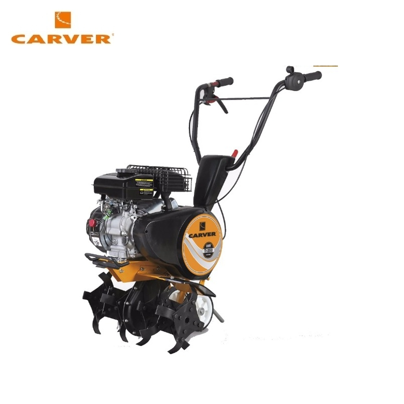 Petrol motor cultivator CARVER T-350 (garden tiller, rotavator)  Walk-behind tractor Rotary cultivator Power cultivator