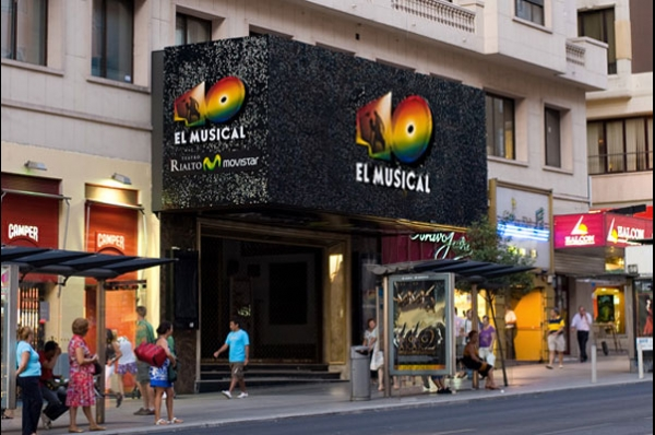 40 El Musical En El Teatro Rialto De Madrid Zenit