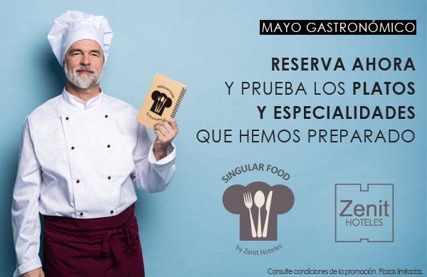 Mayo gastronómico