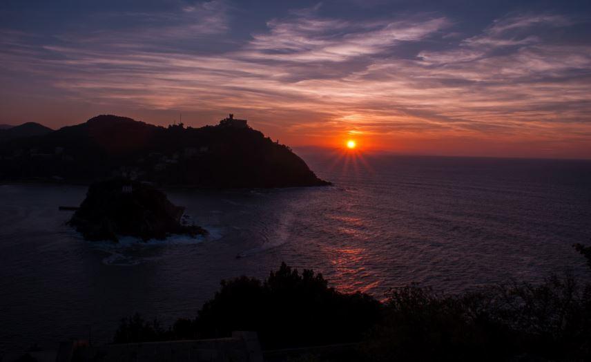 las mejores puestas de sol de San Sebastián