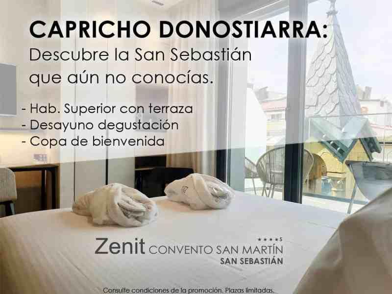 Capricho donostiarra Zenit Convento San Martín