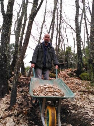 Piedras para la base