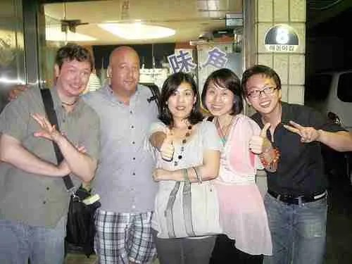 Bizarre Foods with Andrew Zimmern in Korea