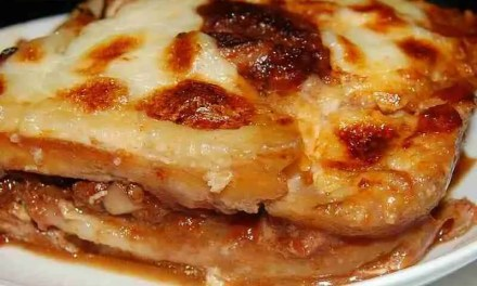 Lasagna with Sliced Tteok