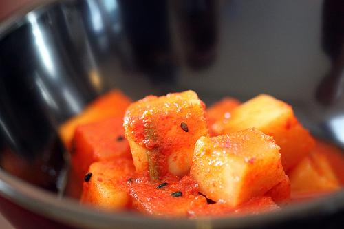 Baru - Cubed radish kimchi