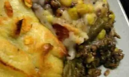 Haggis Shepherd's Pie