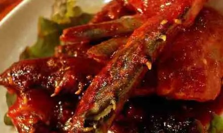 Smothered Raw Crabs (GeiJang 게장)