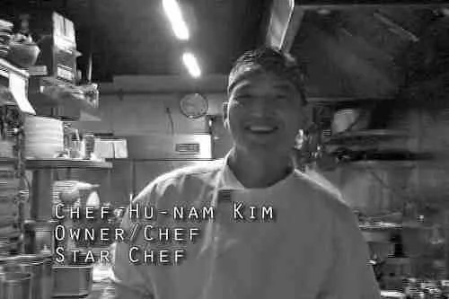"""Star Chef"" Kim on EBS"