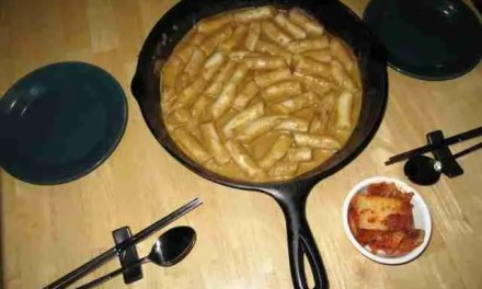 The Fourth Day of Tteokbokki: Korma Curry Tteokbokki