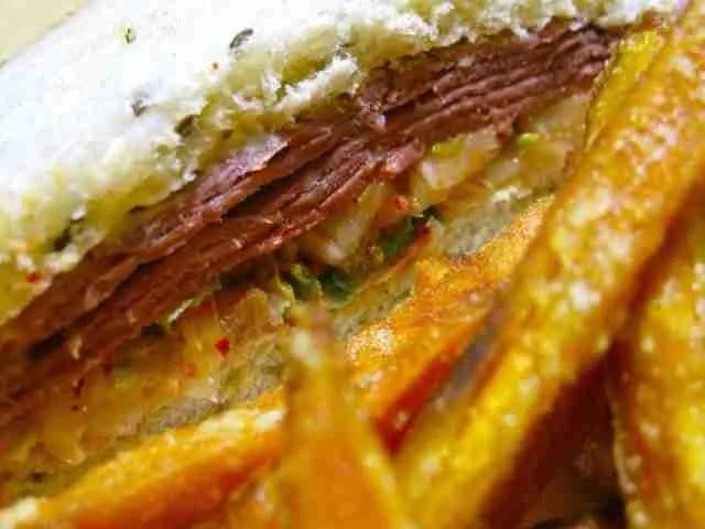 St. Patrick's Day Leftovers: Kimchi Reuben Sandwich