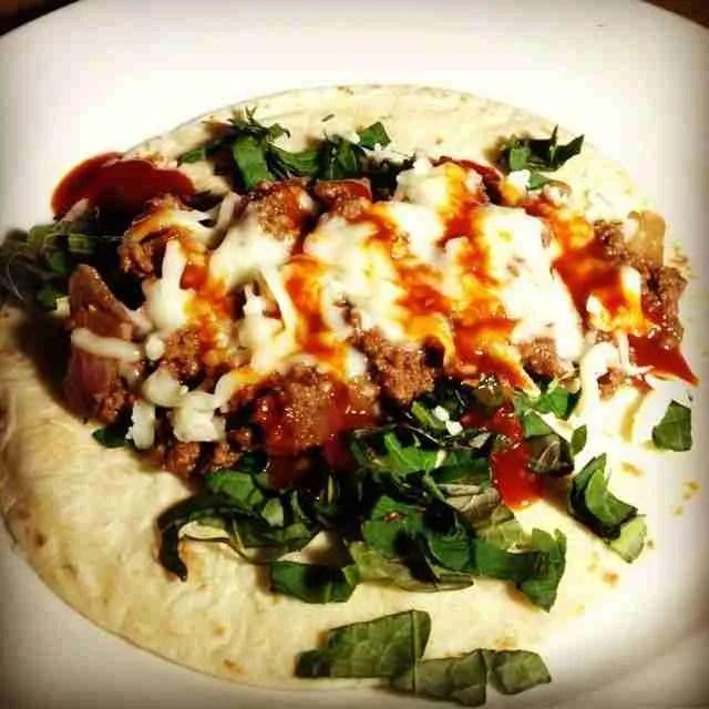 Kkaenip Bison Tacos
