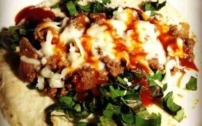 Pampered Chef Korean BBQ Sauce and Kkeanip Bison Tacos