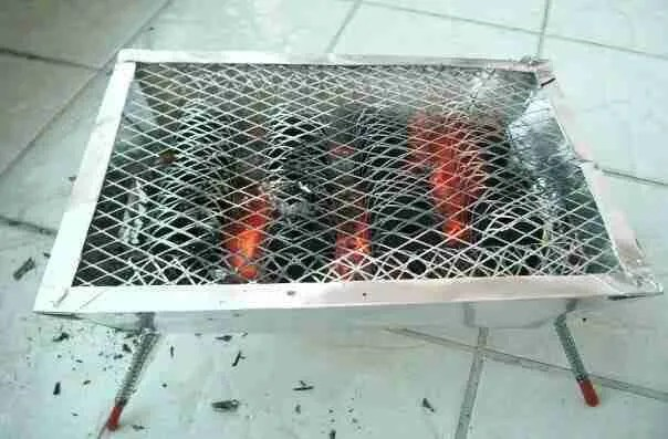 Caution the Single Use Grill