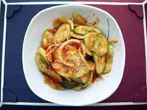 Cool & Spicy Cucumber Salad (Oi Muchim)