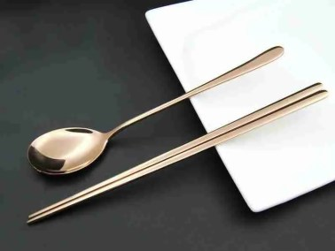 Rose Gold Royal Tableware Set