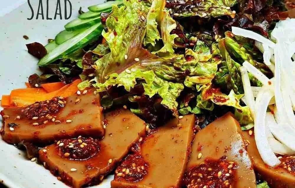 Recipe: Acorn Jelly Salad (Dotorimuk Muchim 도토리묵무침)