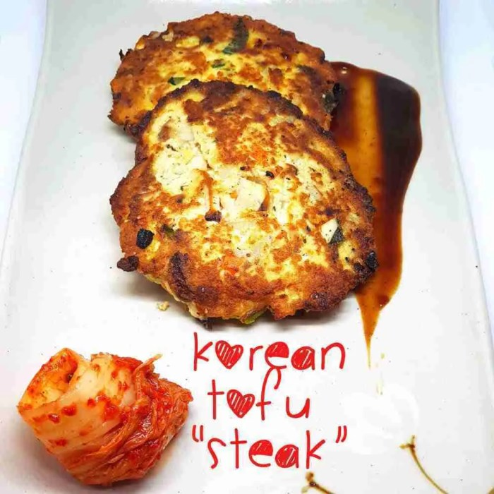 Korean Tofu Steak
