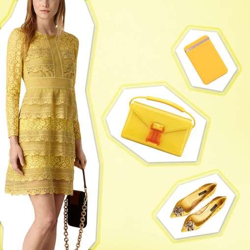 Dress: Burberry, Shoes: Dolce & Gabanna, Bag: Christopher Kane