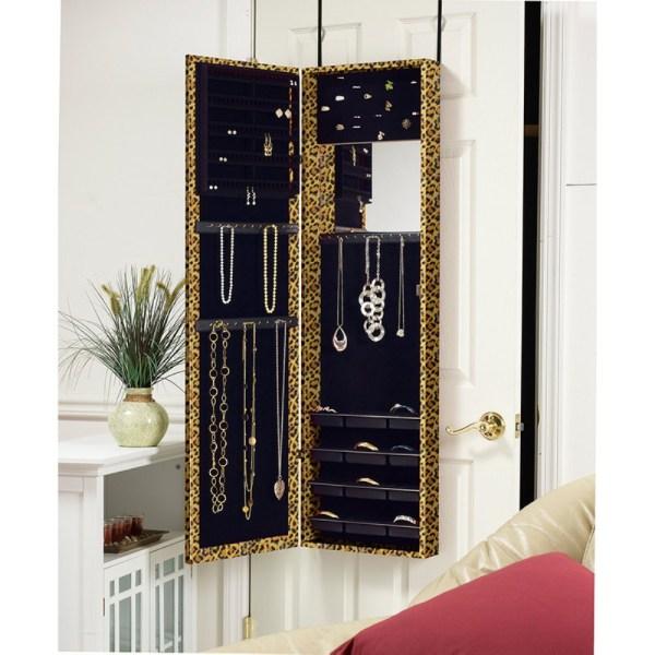 Beautiful Hanging Jewelry Armoires Zen Merchandiser