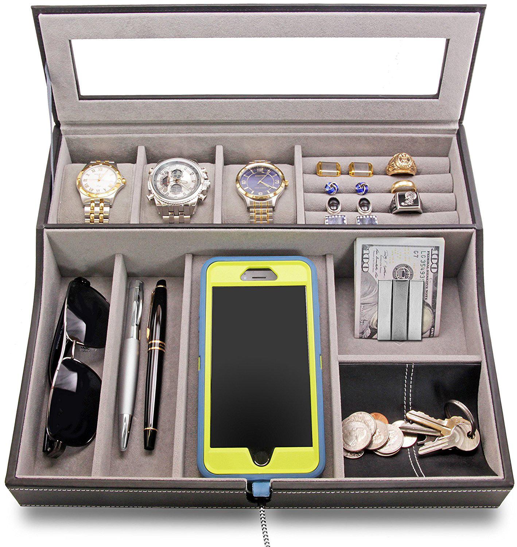 25 Beautiful Mens Jewelry Boxes  Zen Merchandiser