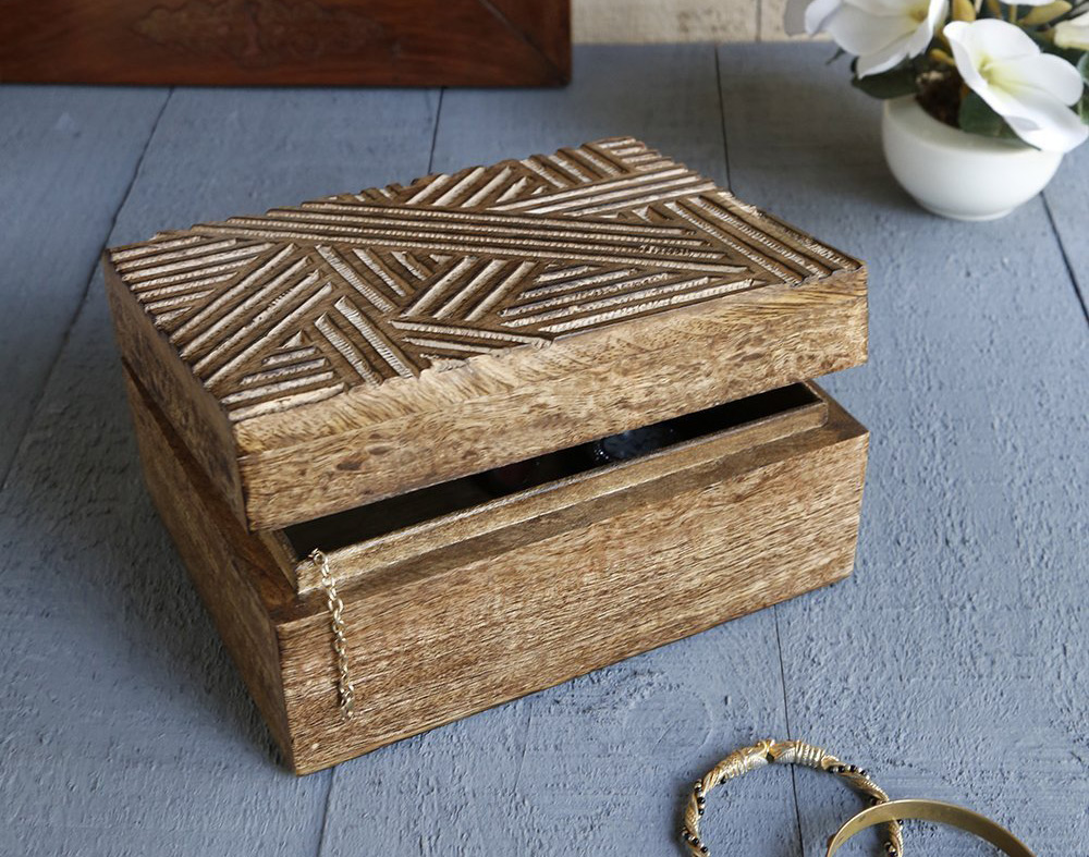 25 Beautiful Wooden Trinket Boxes  Zen Merchandiser