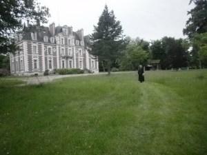 Le Château de la Gendronnière et son parc idéal pour accueillir les débutants comme les anciens dans le zen