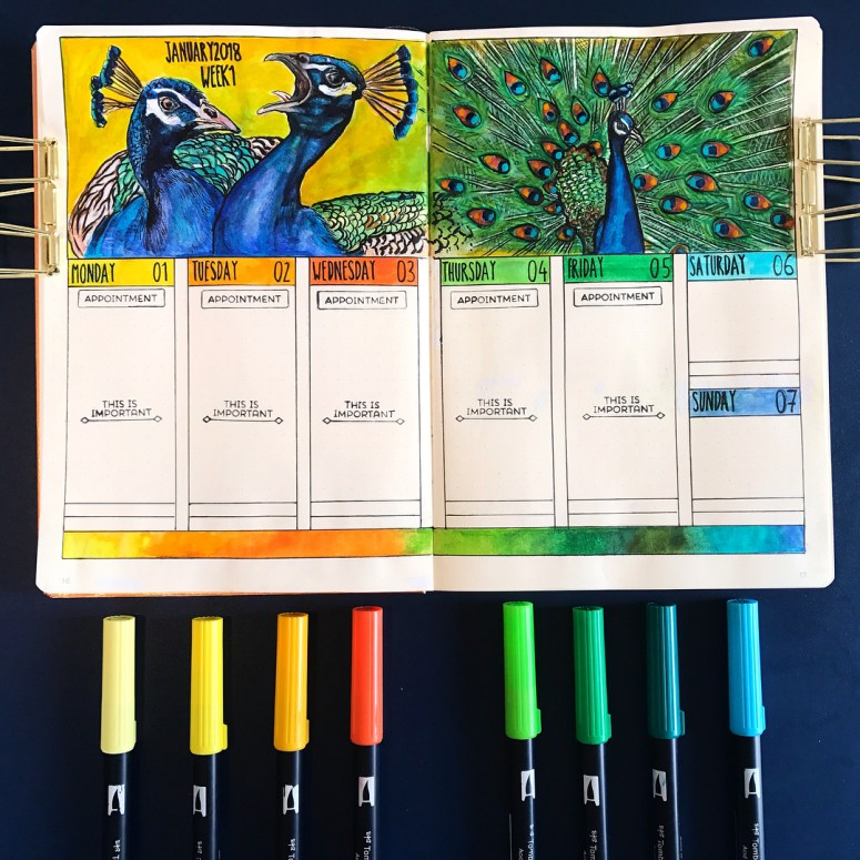 Simple to Fancy Header Ideas to Spice Up Your Bullet Journal | Zen of Planning | Planner Peace and Inspiration