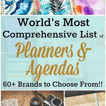 World's Most Comprehensive List of Planner All In One Spot | Zen of Planning | Planner Peace