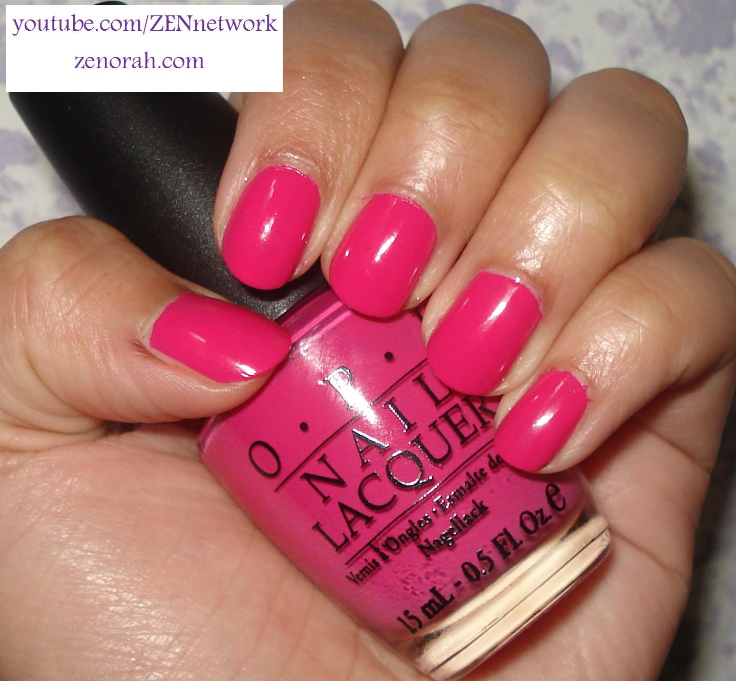 Opi Pink Colors