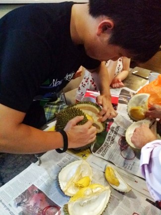 They enjoy cracking durians, but that does not mean they want to depend their livelihood on that!
