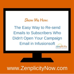 Show Me How: The Easy Way to Resend Emails to Subscribers Who Didn't Open Your Campaign Email