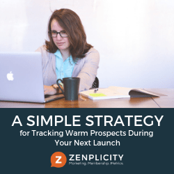 A Simple Strategy for Tracking Warm Prospects During Your Next Launch