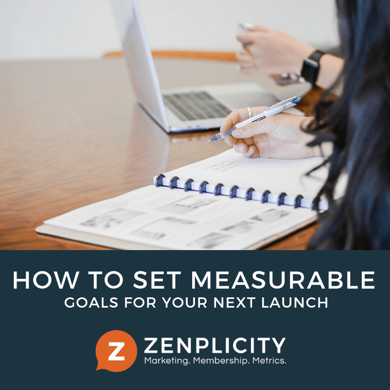 How To Set Measurable Goals for Your Next Launch
