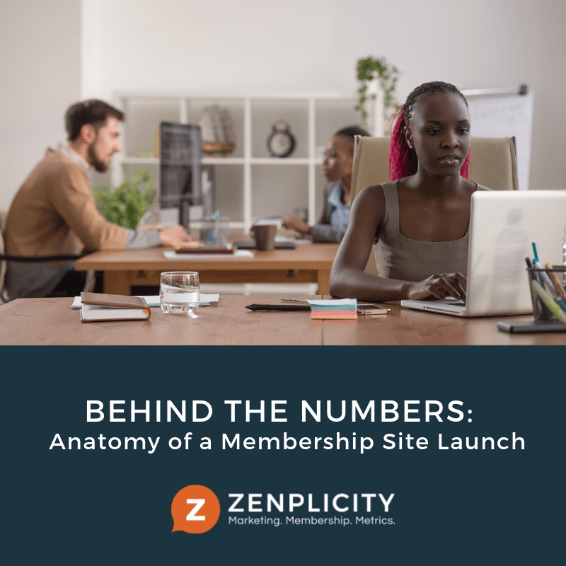 Behind the Numbers: Anatomy of a Membership Site Launch