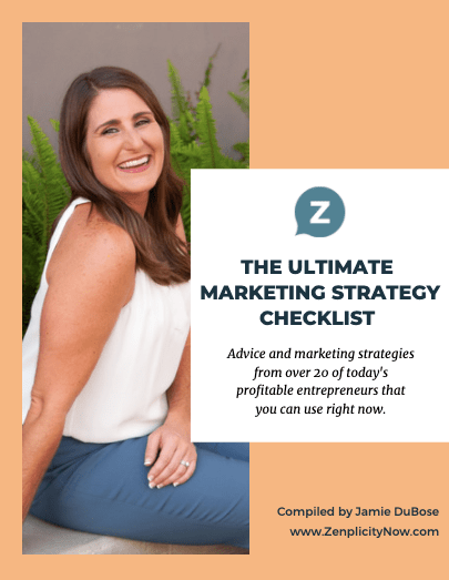 Ultimate Marketing Checklist Thank You