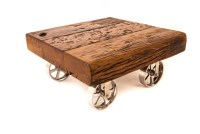 Nuparc Caster Coffee Table - Zenporium