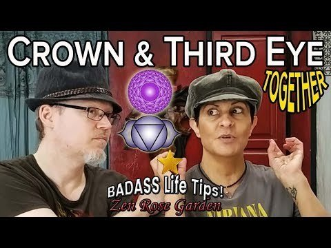 How To Be Spiritual AF | Crown Chakra And Third Eye Chakra Integration