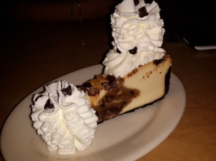 My first Cheesecake Factory attempt. It was delicious. Rich, but delicious.