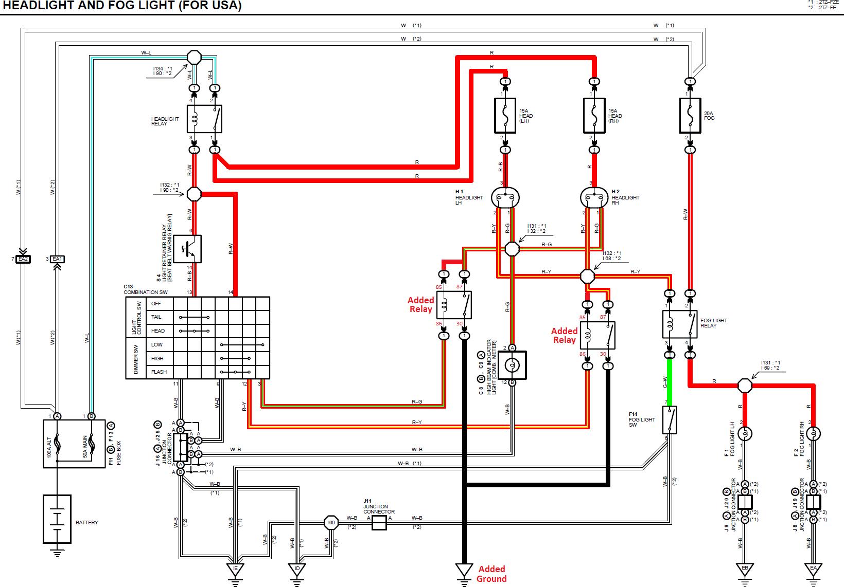 Admirable H4 Headlight Wiring Diagram Infiniti Wiring Diagram Wiring 101 Tzicihahutechinfo