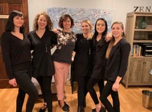 Esthetician Team Zen Skincare Waxing Studio Asheville NC