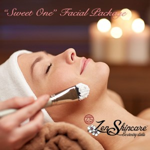Sweet One Facial Spa Package 90 Minutes Zen Skincare Waxing Studio Asheville NC