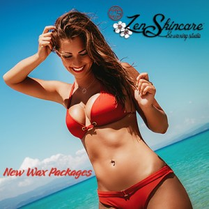 Brazilian Wax Packages at Zen Skincare Waxing Studio Asheville, NC.