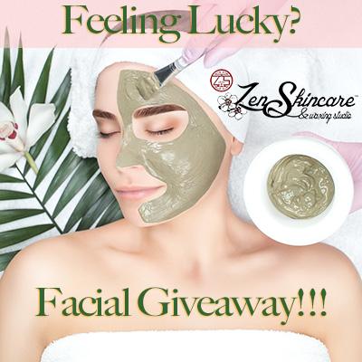 4 Layer Green Facial Giveaway 2021 Zen Skicare Waxing Studio Asheville NC