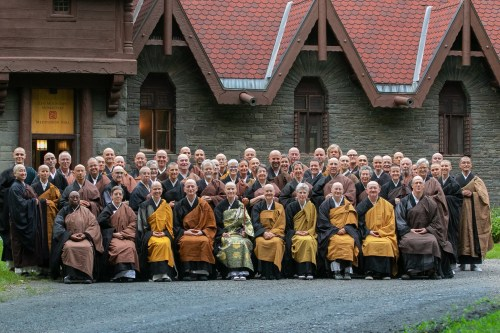 Participants in the 2018 Soto Zen Buddhist Association Conference (Sept 19-23)