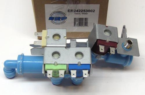 small resolution of exact replacement refrigerator water valve for electrolux part number 242253002
