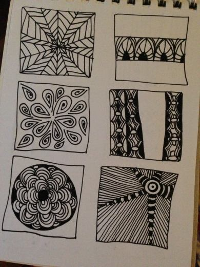 A few tangles and variations